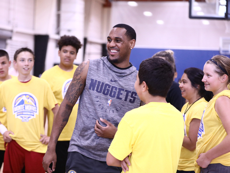 Denver Nuggets' Monte Morris teaches hoops at local summer basketball camp