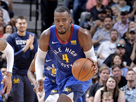 Paul Millsap's leadership helping Denver Nuggets in first round playoff series vs. Spurs