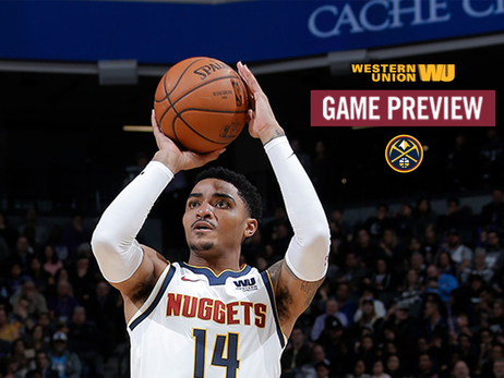 Game Preview: Nuggets Continue Road Trip Against Wizards
