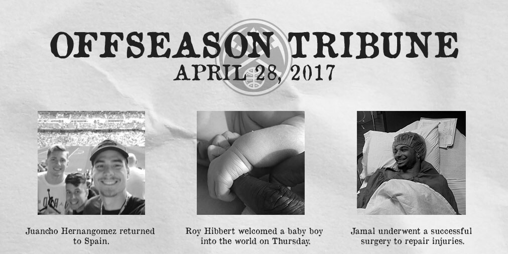 Offseason Tribune: Joki Back in Gym Hibbert Welcomes a Baby Boy Nuggets Travel