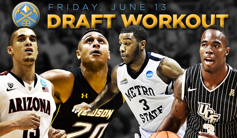Nuggets to Host Second Set of Predraft Workouts