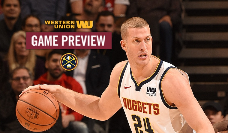 Game Preview: Nuggets Take Winning Streak to Charlotte