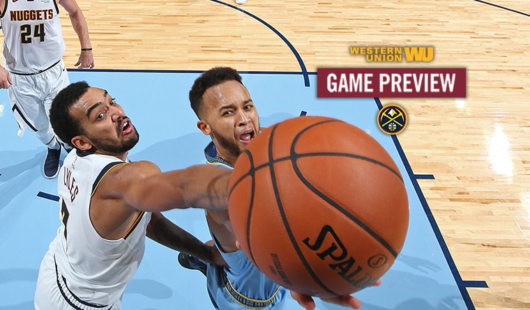 Game Preview: Nuggets Return Home to Face Grizzlies