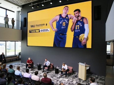 Western Union hosts sitdown with Denver Nuggets' Michael Malone and Tim Connelly