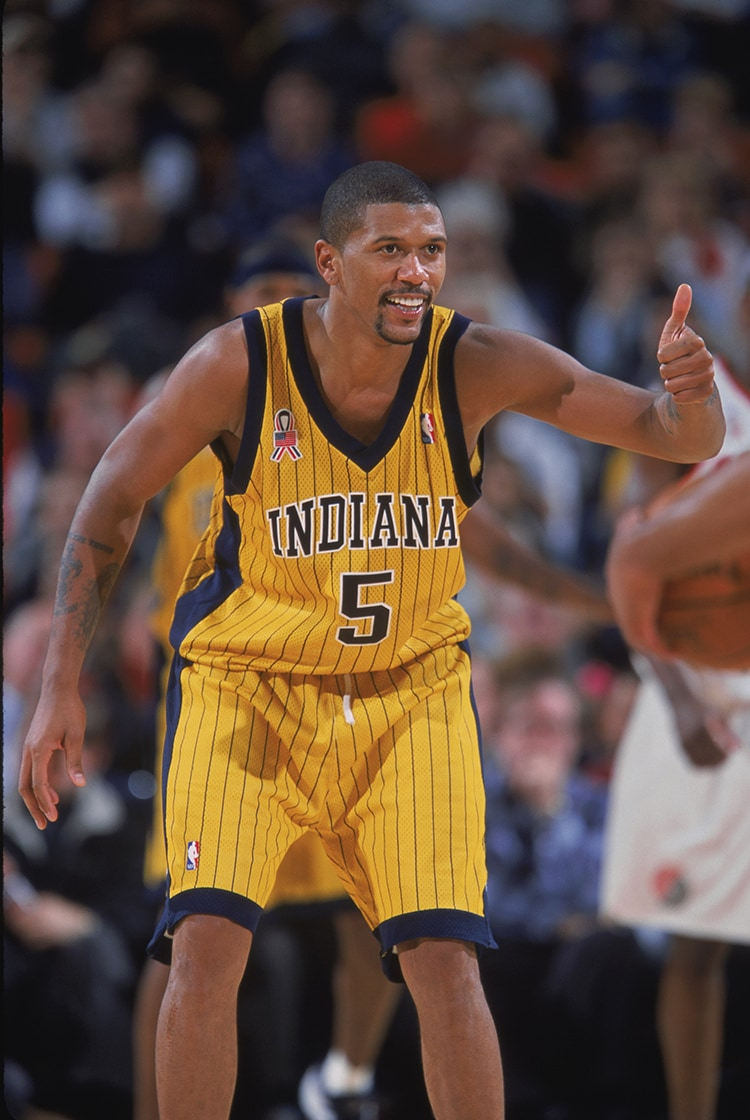 1990s Pacers At A Glance Jalen Rose Indiana Pacers