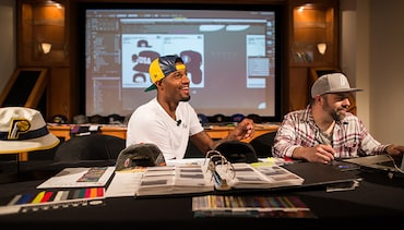 Behind the Scenes of Paul George's New Era Design Session
