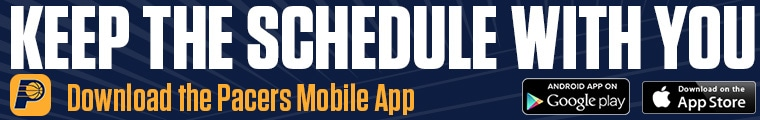 Pacers mobile app