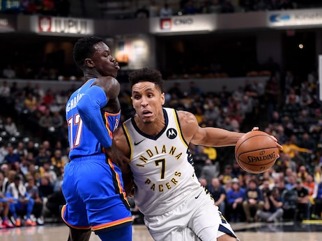 Pacers 111, Thunder 85