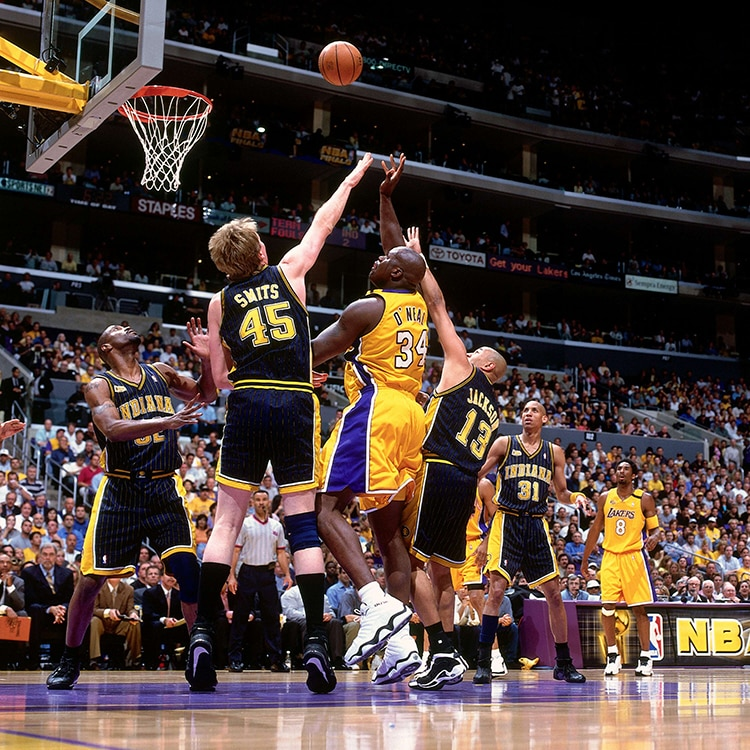 2000 NBA Finals: Pacers at Lakers, Gm 1 part 1/12 - YouTube