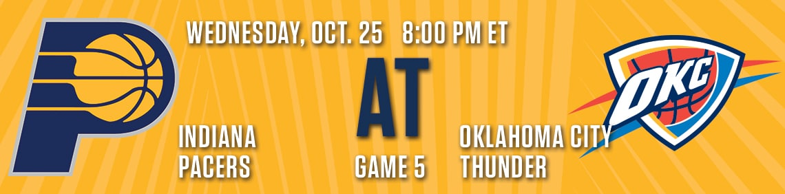 Pacers at Thunder