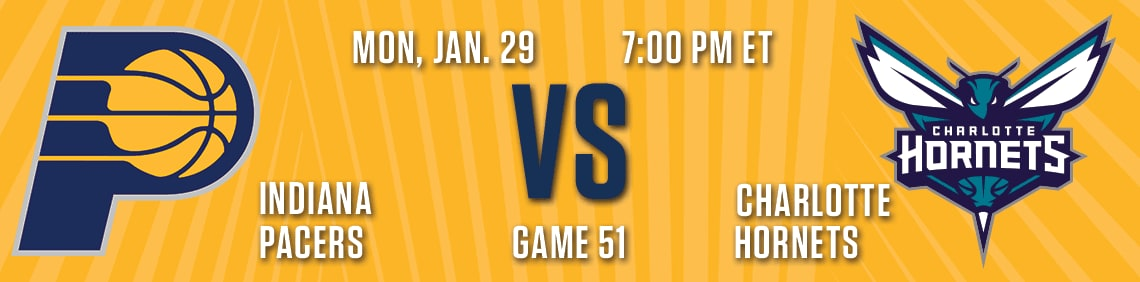 Pacers vs Hornets