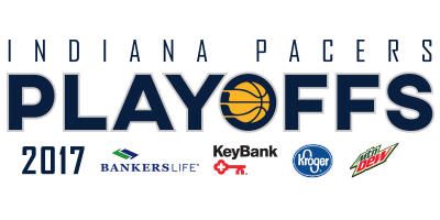 2017 Pacers Playoffs logo