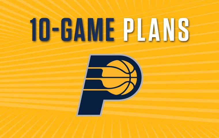 2018-19 10-Game Ticket Plans