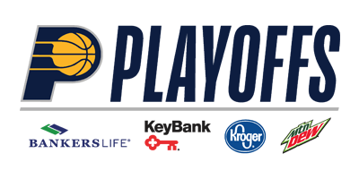Pacers Playoffs presented by Bankers Life, Key Bank, Kroger,