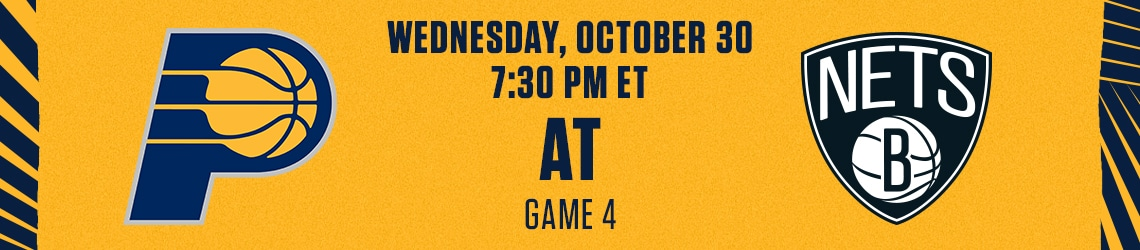 Pacers at Nets