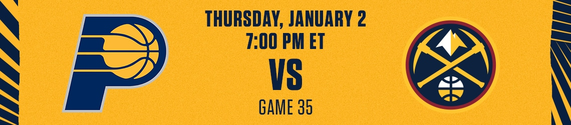 Pacers vs Nuggets