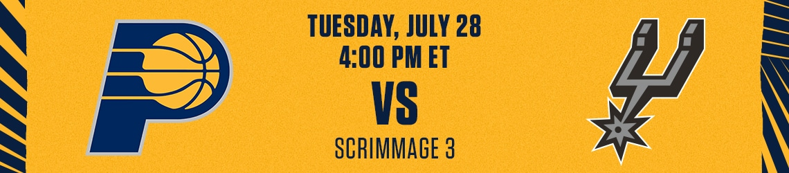 Pacers vs Spurs (Scrimmage)