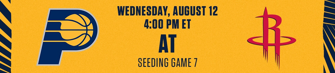 Pacers vs Rockets