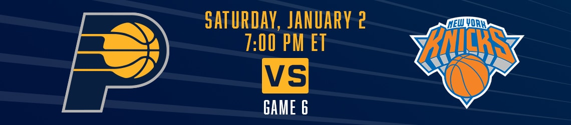 Pacers vs Knicks