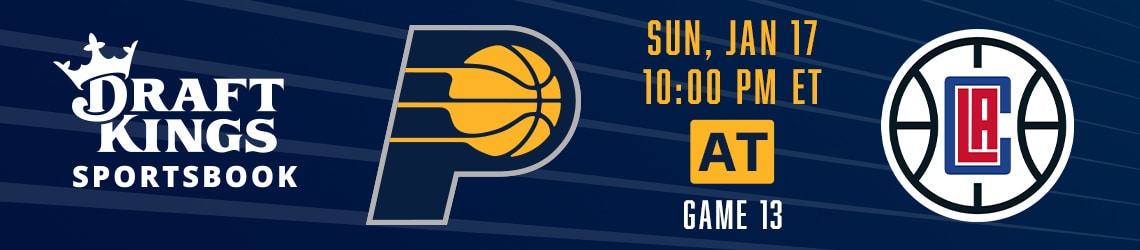 Pacers at Clippers