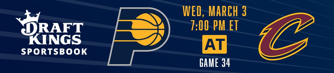 Pacers at Cavaliers
