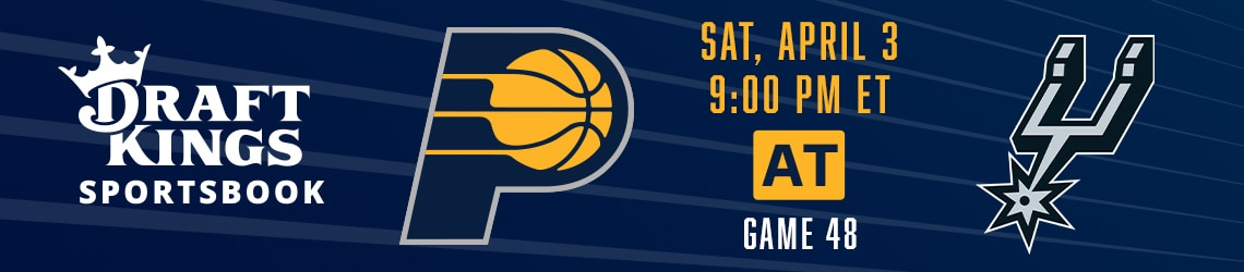Pacers at Spurs