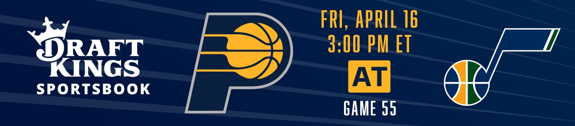 Pacers at Jazz