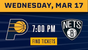 Pacers vs Nets  - Tickets