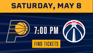 Pacers vs Wizards - Tickets