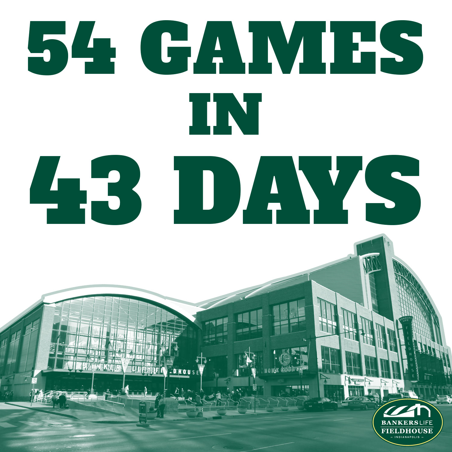 54 Games in 43 Days