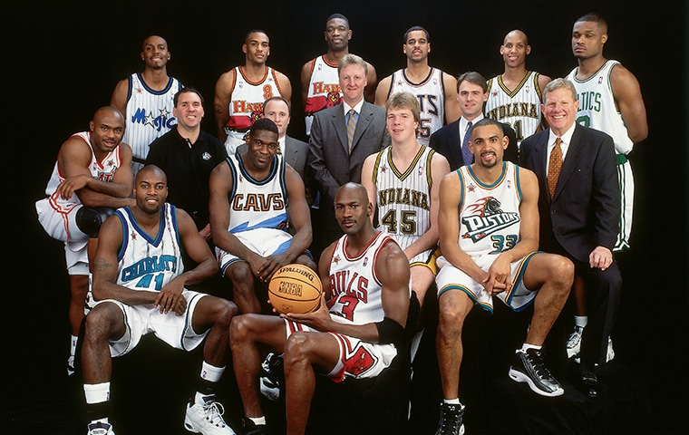 1998 Eastern Conference All-Star Team