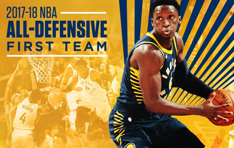 a1114e2c9 Victor Oladipo Named to All-Defensive First Team