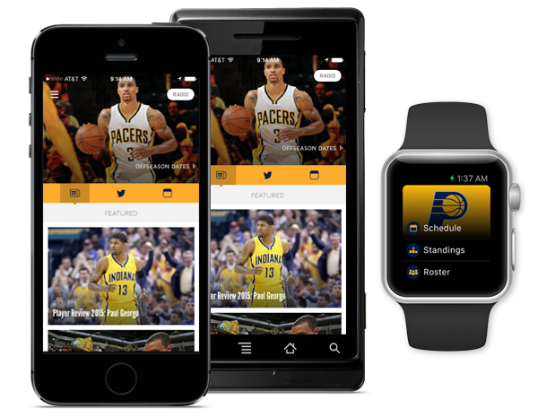 Pacers Official Team App
