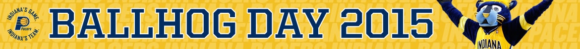 2015 Pacers Ballhog Day