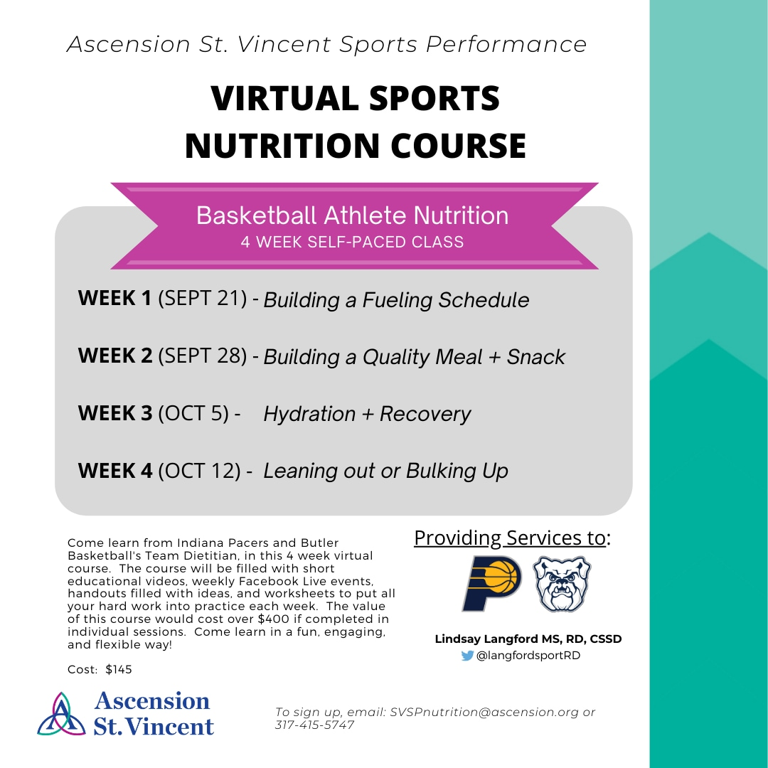 Virtual Sports Nutrition Course