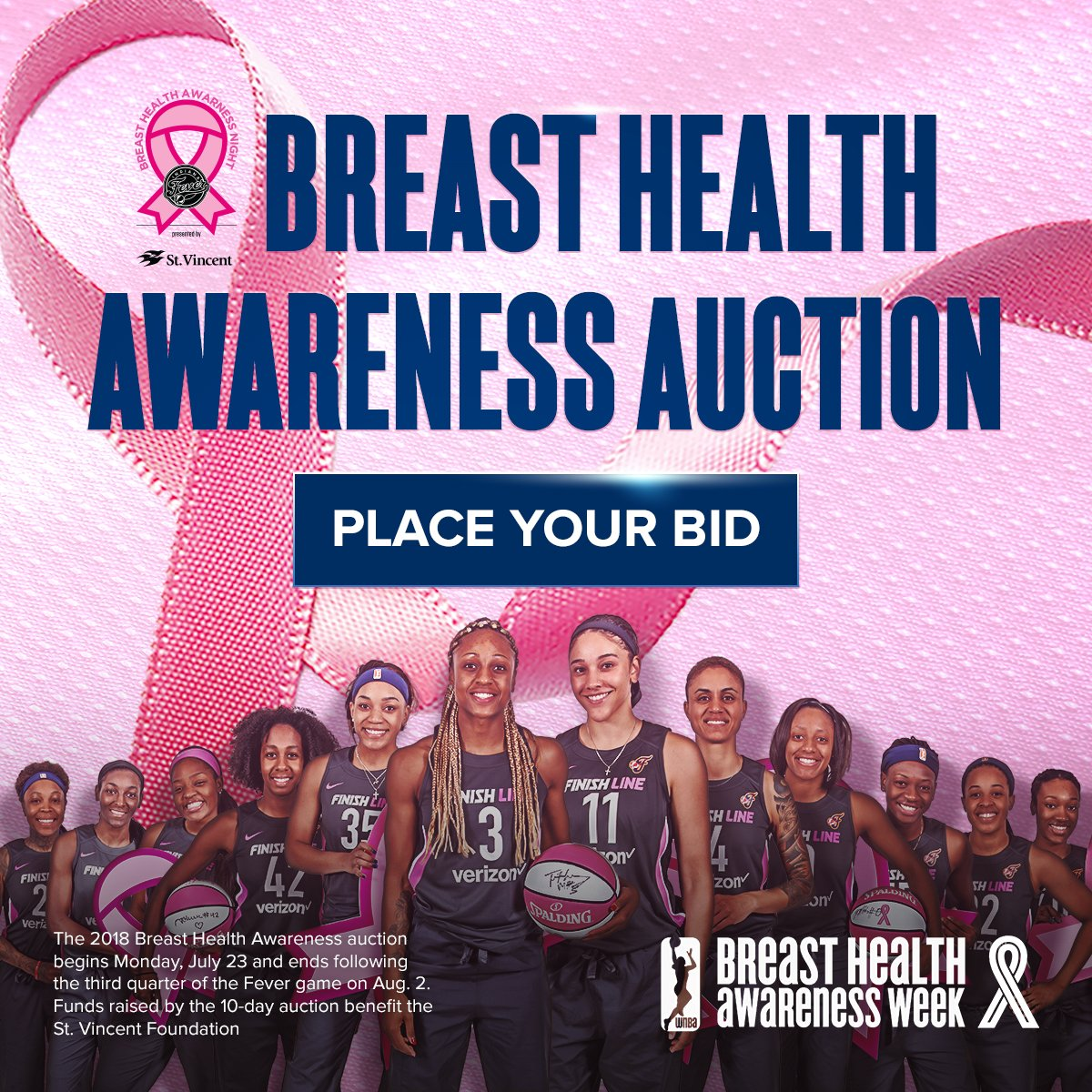 Fever Breast Health Awareness Auction