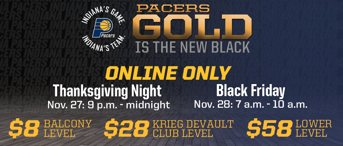 Pacers Black Friday