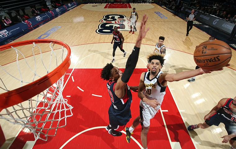 Brian Bowen II with the Fort Wayne Mad Ants