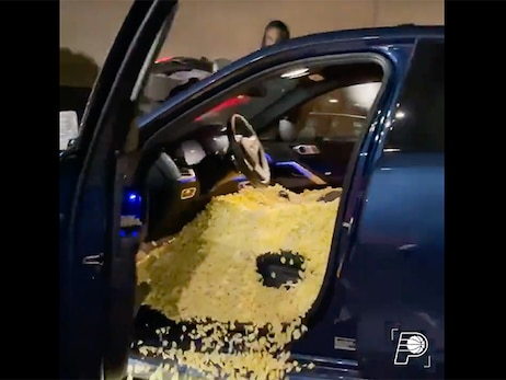 Pacers Prank Cassius Stanley by Filling His Car with Popcorn