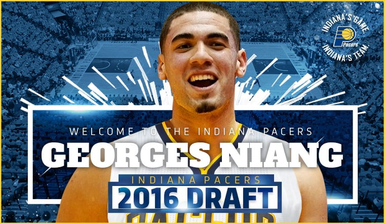 Pacers Draft Georges Niang with 50th Overall Pick