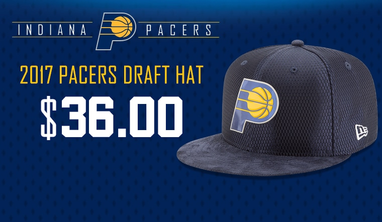 Get the 2017 Pacers Draft Hat
