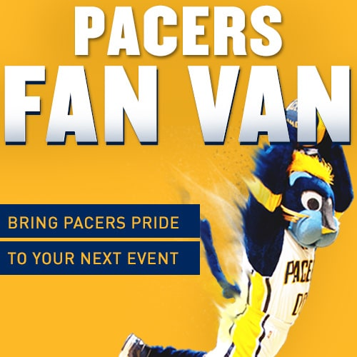 Pacers Fan Van Request