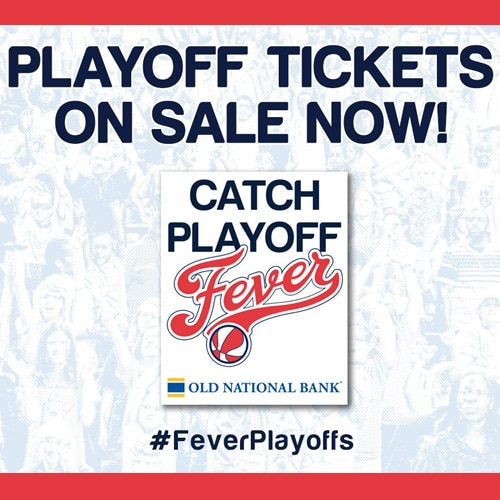 Fever Playoff Tickets on Sale Now