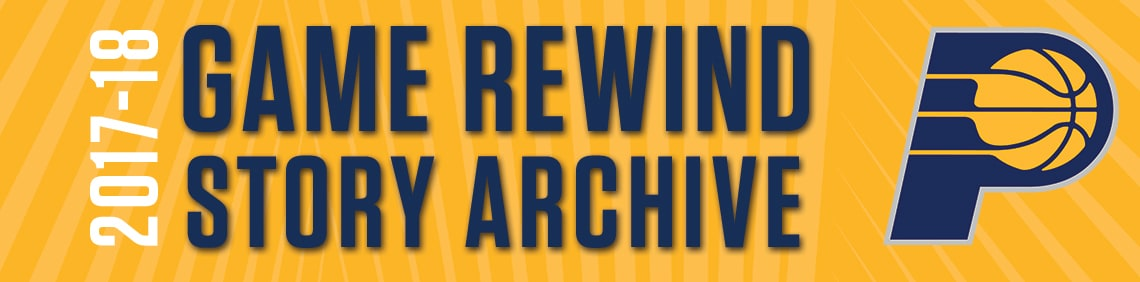 2017-18 Game Rewind Archive