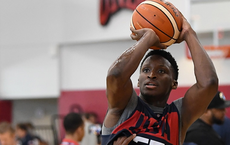 Oladipo Lights Up Miami Pro League with 54 Points