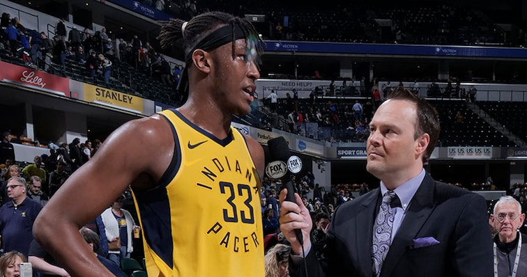 Fox Sports with Myles Turner