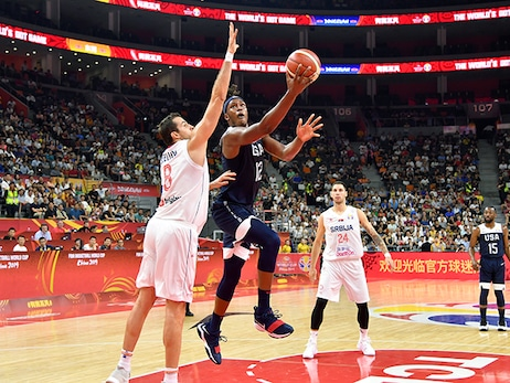 Serbia Hands USA Second Straight Loss