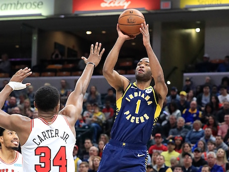 Pacers Not Turning Down Open Two-Point Attempts