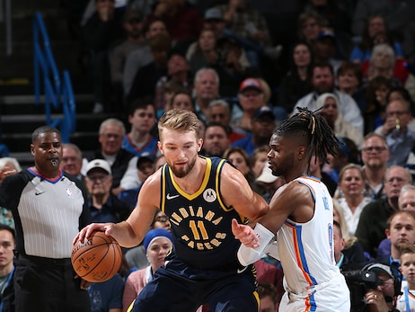 Flashback: Pacers 107, Thunder 100 (Dec. 4, 2019)