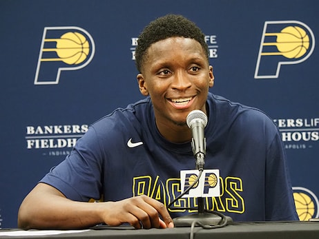 Oladipo Using Hiatus to Continue to Get Stronger